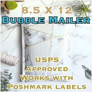 19 Marble Poly Bubble Mailers PRICE IS FIRM